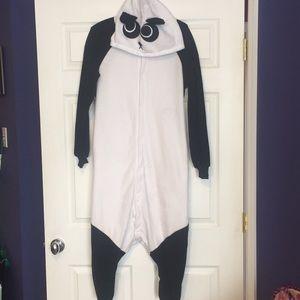 Other - Panda fleece Onesie! Women's S/M